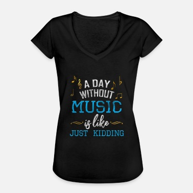 Love Dancing LOVE MUSIC CONCERT JAZZ DANCING - Camiseta vintage mujer