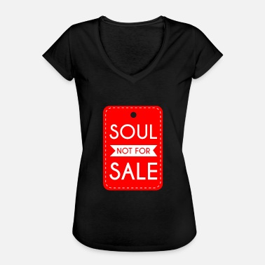 Price Tag Soul Not For Sale Price Tag - Women's Vintage T-Shirt