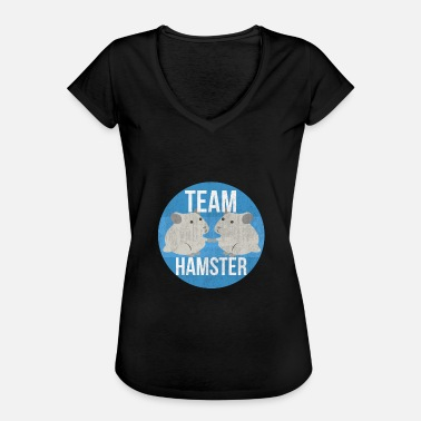 Team Hamster Team hamster I hamster cage boy girl child - Women's Vintage T-Shirt