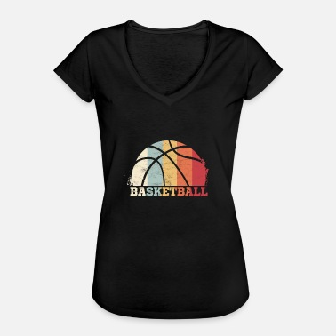 Retro Basketball Basketball Retro Vintage Basketballer - Women's Vintage T-Shirt