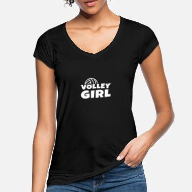 Volley Volley Ball Girls Design - Camiseta vintage mujer