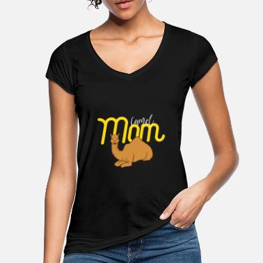 Arabien Camel Mom - Gift For Mom - Camel Lover Gift - Vintage T-shirt dam