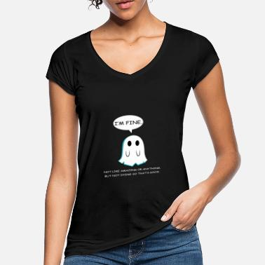 Typography Not Dead So Joker and Comedian Gift - Women's Vintage T-Shirt