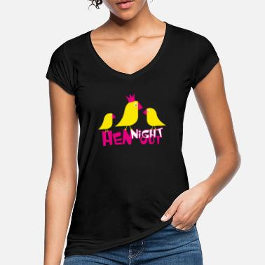 Hen Night Hen Night Night - Vintage T-shirt dam