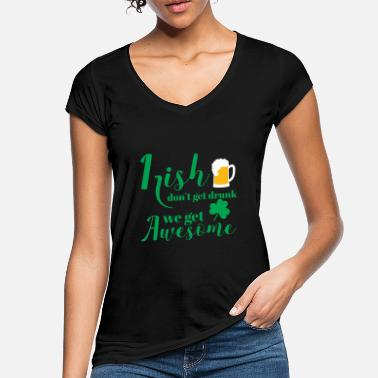 St Patricks Day St Patricks Day - Irish - Beer - Funny - Gift - Women's Vintage T-Shirt