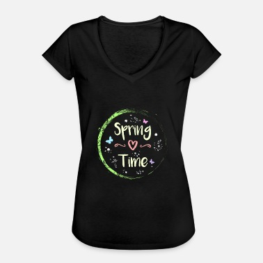 Winterade Temps de printemps - T-shirt vintage Femme