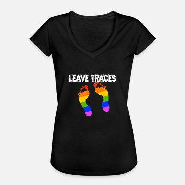 Trace Leave Traces LGBT Spuren - Frauen Vintage T-Shirt