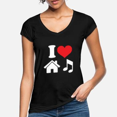 House house music - Women's Vintage T-Shirt