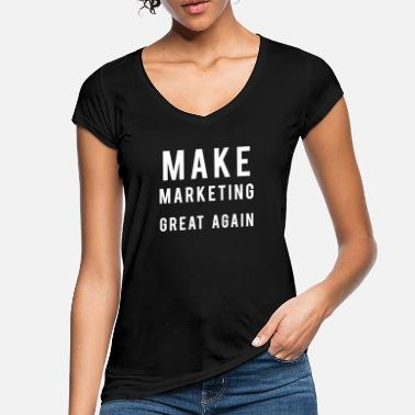 Online Marketing - Frauen Vintage T-Shirt