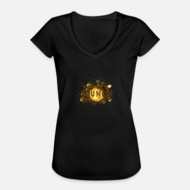 Eruption Comic Lärm vergoldet golden - Gold - Frauen Vintage T-Shirt