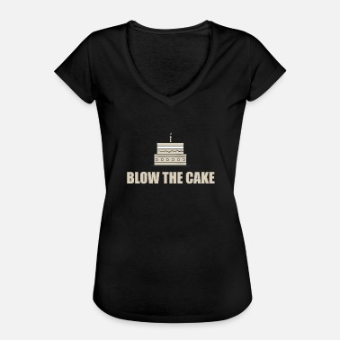 Blow Out Blow out the candle! - Women's Vintage T-Shirt