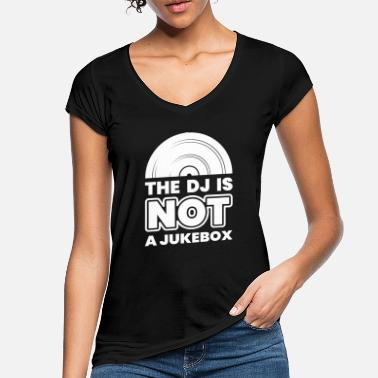 Record DJ Records Djane Turntable Music Vinyl - Women's Vintage T-Shirt