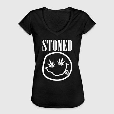 Stoned - Frauen Vintage T-Shirt