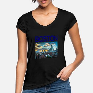 Lincolnshire Boston Massachusetts Geschenk Idee - Frauen Vintage T-Shirt