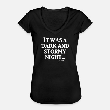 It was a dark and stormy night... - Women's Vintage T-Shirt