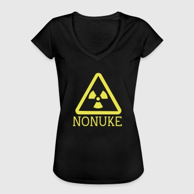 Nuclear Waste No nuclear weapons - Women's Vintage T-Shirt