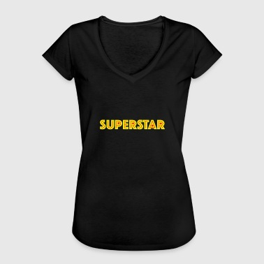 Superstar superstar - T-shirt vintage Femme