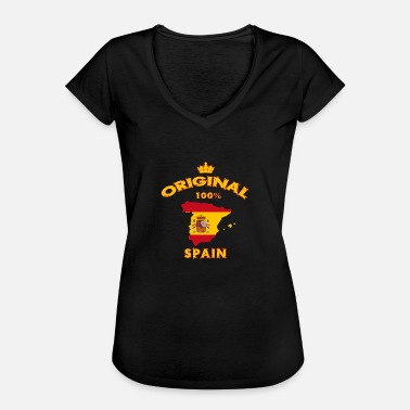 Flag Balearic Islands Spain 100% original / flag gift - Women's Vintage T-Shirt
