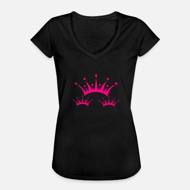 Seeing Eyelashes Crown eyelashes - Women's Vintage T-Shirt