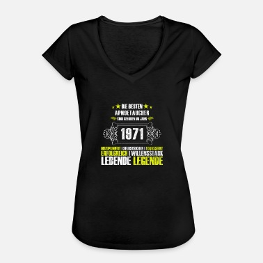46th Birthday Gift for the 46th birthday for Apnoucher - Women's Vintage T-Shirt