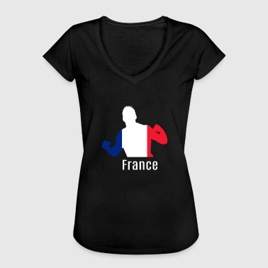 Wc Football WC France WC Soccer - T-shirt vintage Femme