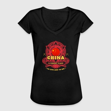 Chine Chine - T-shirt vintage Femme