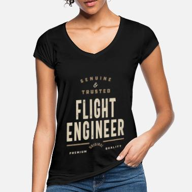 Flight Flight Engineer Original - Women's Vintage T-Shirt