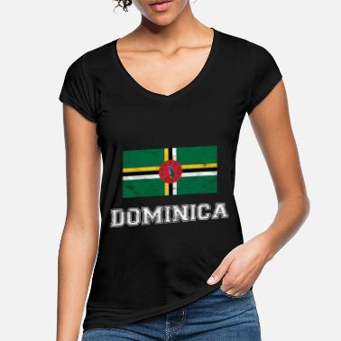 Commonwealth Dominica Flagge Commonwealth Dominica Geschenk - Frauen Vintage T-Shirt