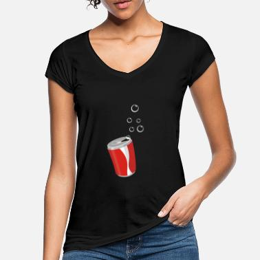 Blubber can with blubber bubbles - Women's Vintage T-Shirt