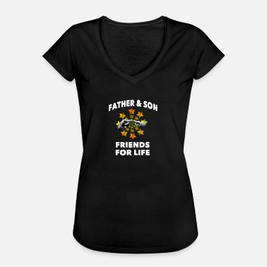 Father And Son Father & son - Women's Vintage T-Shirt