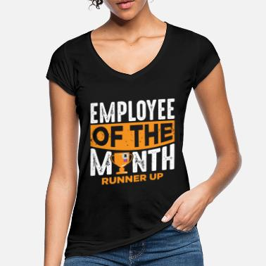 Month Lazy employee of the month loser colleague - Women's Vintage T-Shirt