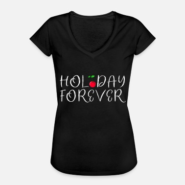 Gay Minimal Holiday cherry minimal cool gift idea - Women's Vintage T-Shirt