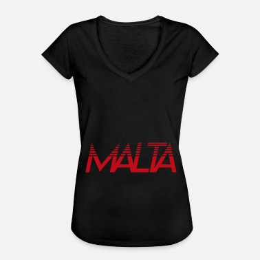 Countries Malta Country and Country Maltese, Malt, Country, Countries, - Women's Vintage T-Shirt