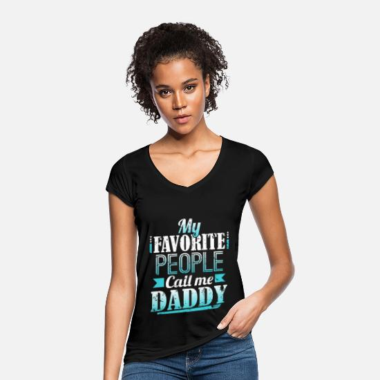 Love T-Shirts - Father's Day - Women's Vintage T-Shirt black