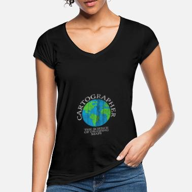 Cartography Cartography world - Women's Vintage T-Shirt