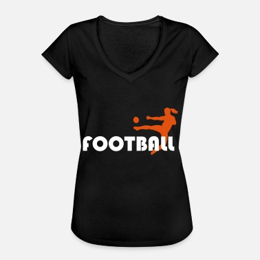 Womens Football Women's Football Women's Football - Women's Vintage T-Shirt
