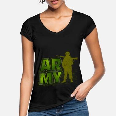 Army Reserve Army Army soldiers - Women's Vintage T-Shirt
