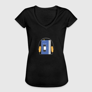 This Is Blue Stereo walkman in blue - Camiseta vintage mujer