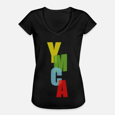 Ymca ymca - Women's Vintage T-Shirt