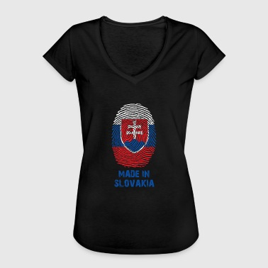 Slovakia flag - Made in Slovakia - gift - Women's Vintage T-Shirt