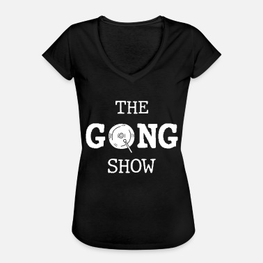 Musicale Show The Gong Show - Maglietta vintage donna