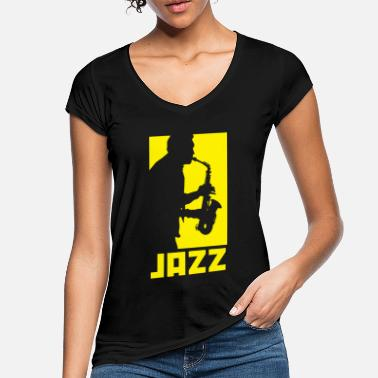 Jazz Jazz music - Women's Vintage T-Shirt