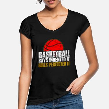 Frauen Basketball Frauen Basketball - Frauen Vintage T-Shirt