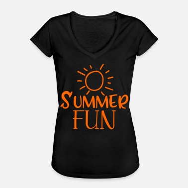 Fun Summer Summer Fun - Women's Vintage T-Shirt
