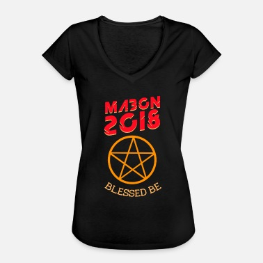 Equinox Mabon 2018 blessed witch autumn equinox poison - Women's Vintage T-Shirt