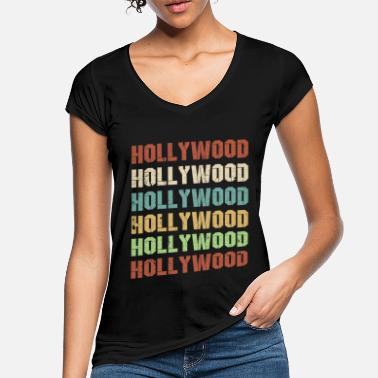 Hollywood Hollywood - Camiseta vintage mujer