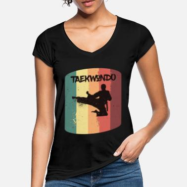 Do Tae Kwon Do - Taekwondo - Martial Arts Gift - Women's Vintage T-Shirt