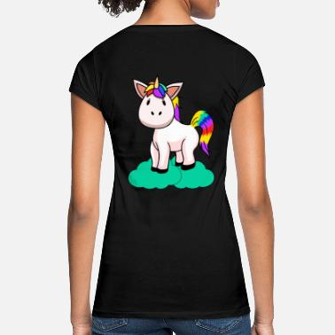 Fabeltiere Unicorn fantasy kids baby toddler mythical animals - Women's Vintage T-Shirt