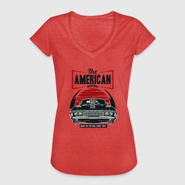 American Muscle Car - Frauen Vintage T-Shirt