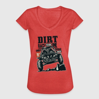 Buggy Racing - Dame vintage T-shirt